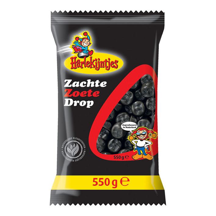 Harlekijntjes Zachte Zoete Drop (500 gr.)