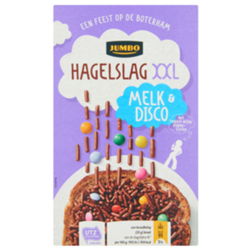 Jumbo Hagelslag XXL Melk & Disco