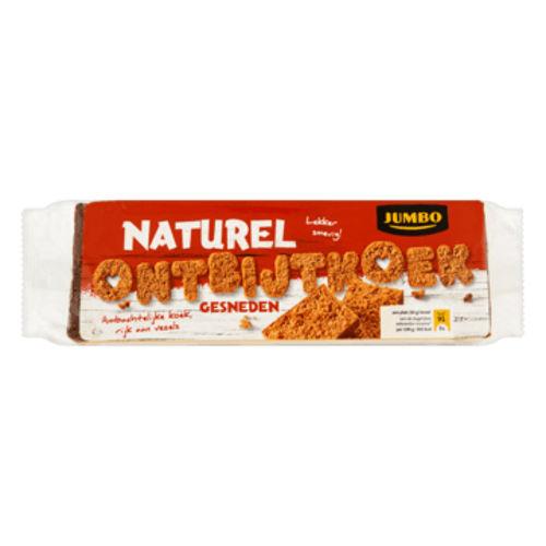 Jumbo ontbijtkoek naturel gesneden