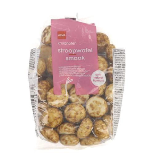 Kruidnoten met Stroopwafel Smaak