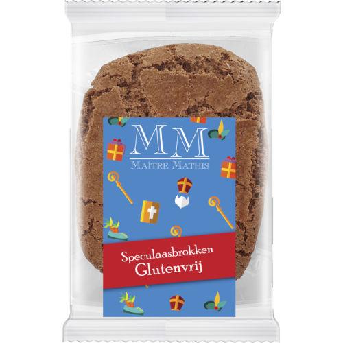 Maitre Mathis glutenvrije speculaas brokken 120 gram