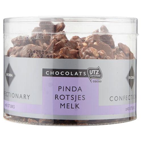 melk chocolade pindarotsjes