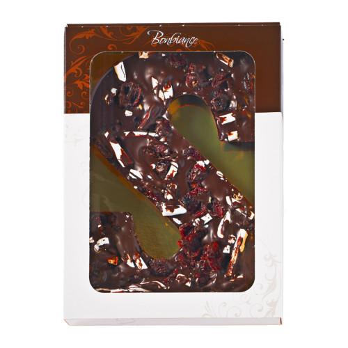 Chocoladeletter puur cranberry meringue