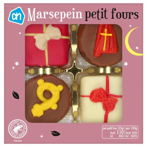 Marsepeinen Sinterklaas petit fours bonbons