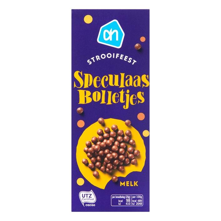 Hagelslag strooifeest pepernootbolletjes melkchocolade