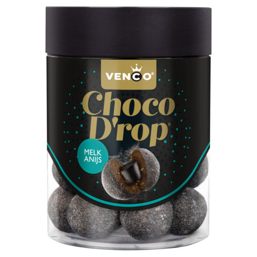 Venco melk chocolade drop anijs
