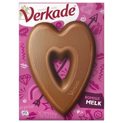 Verkade Hart Melkchocolade