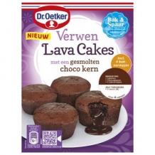Dr. Oetker chocolade lava cakes