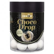 Venco chocolade drop wit sakmiak