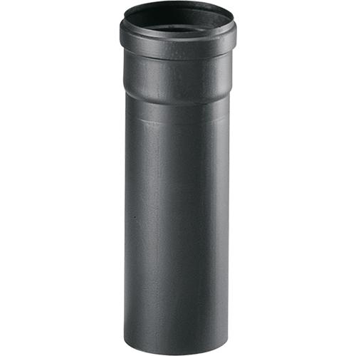 25cm afvoerbuis pelletkachel zwart