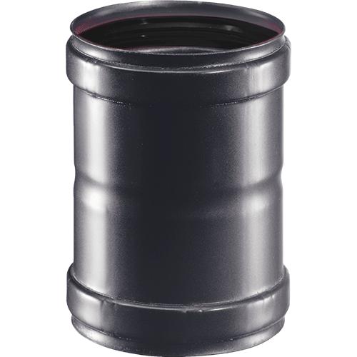 Mof 15cm F/F afvoermateriaal pelletkachel zwart