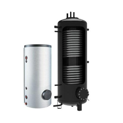 Hygiëne boiler 750L met 2 warmtewisselaar