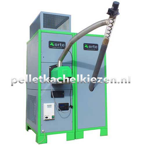 Pellet Luchtverwarming Orte Power 130Kw