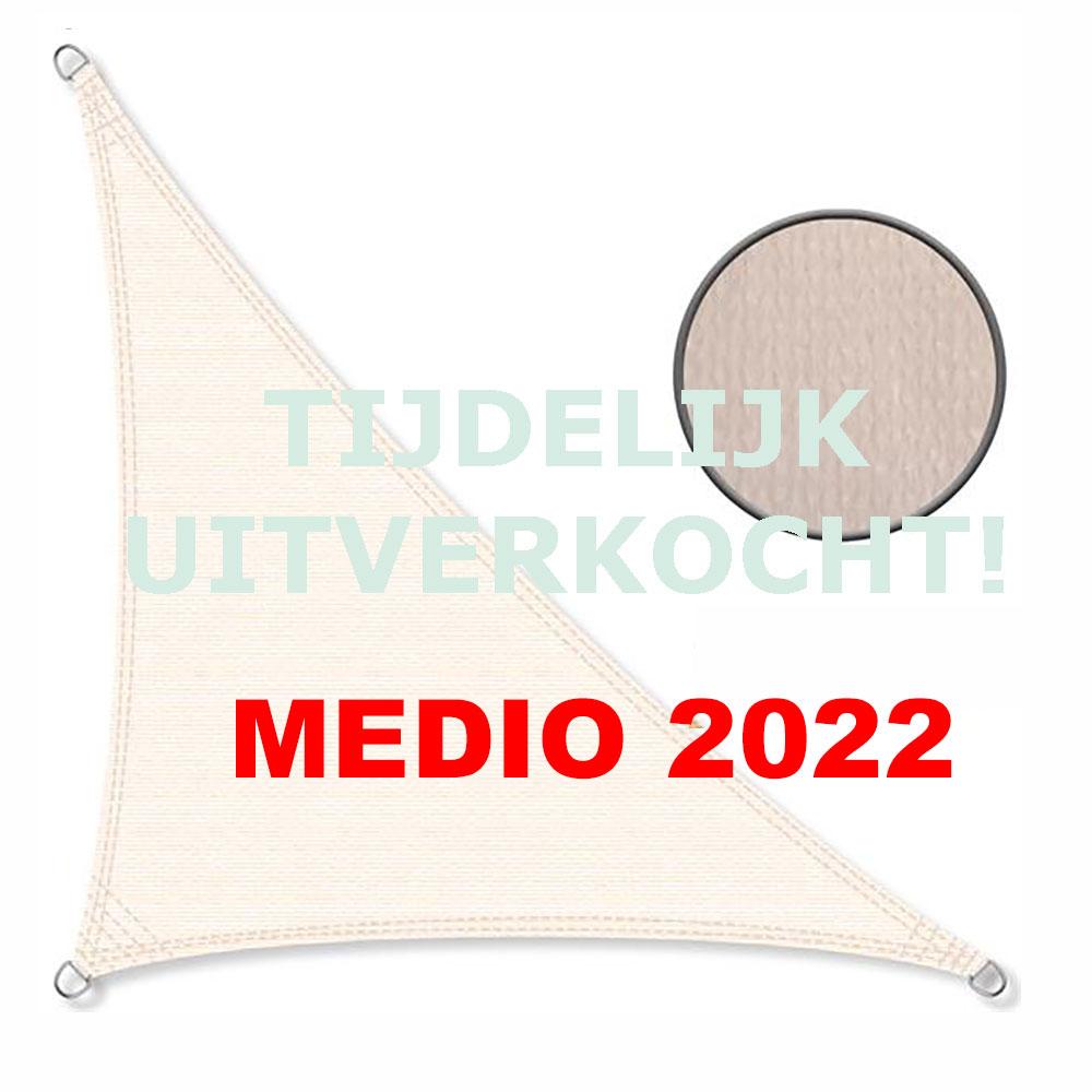 Zonnedoek 2x3x4m 190gr/m² 90º crème