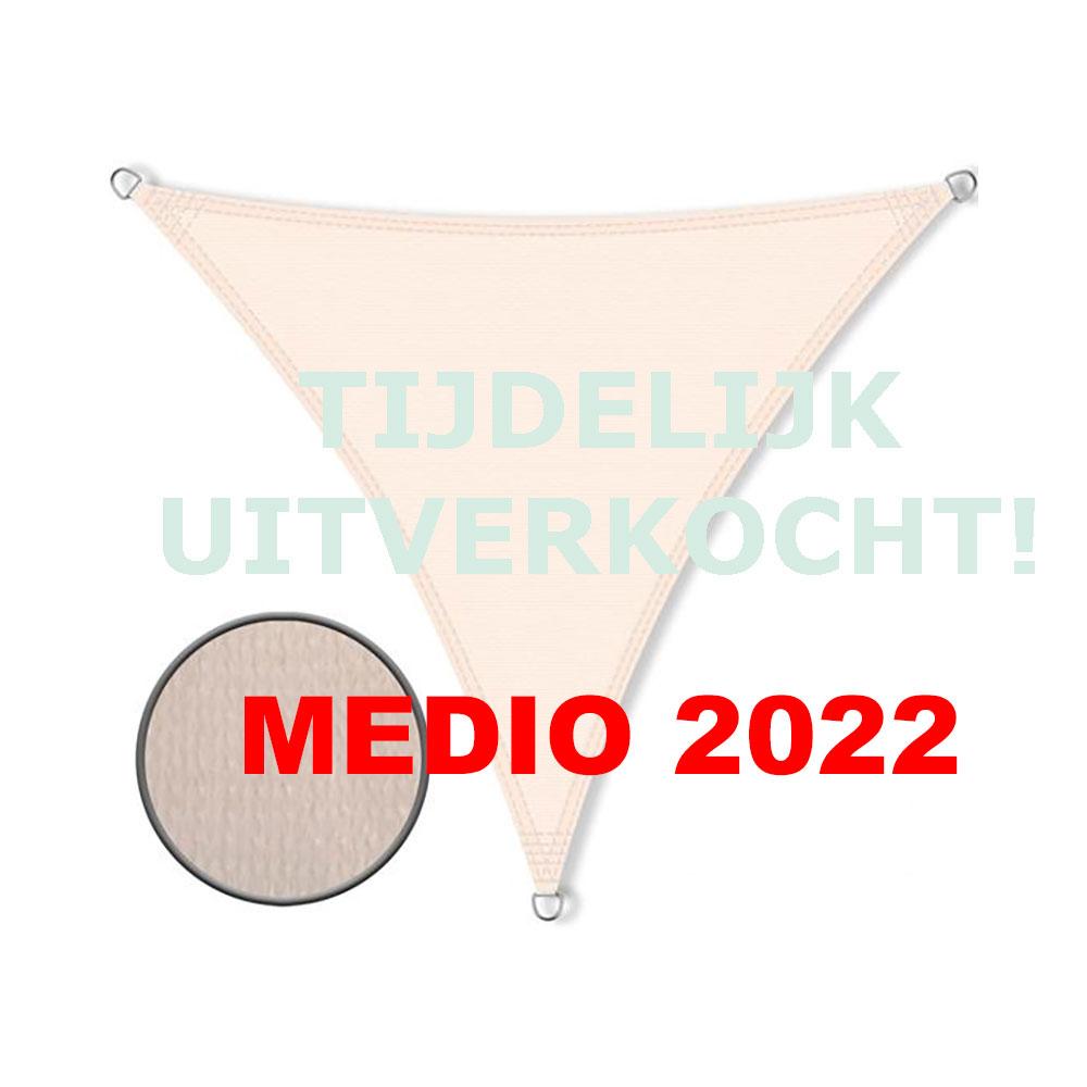 Zonnedoek 5x7x7m 190gr/m²  crème