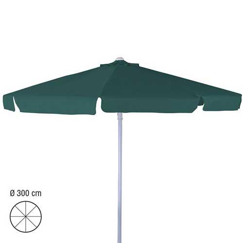 parasol 3m rond groen