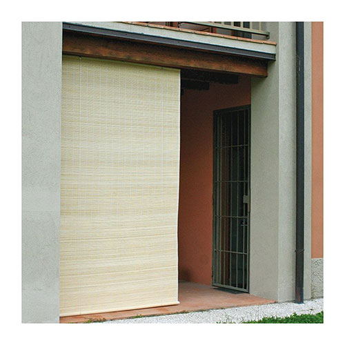 bamboe rolgordijn asia 150 cm detail