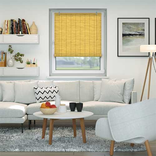 rolgordijn bamboe 130x160 cm sfeer