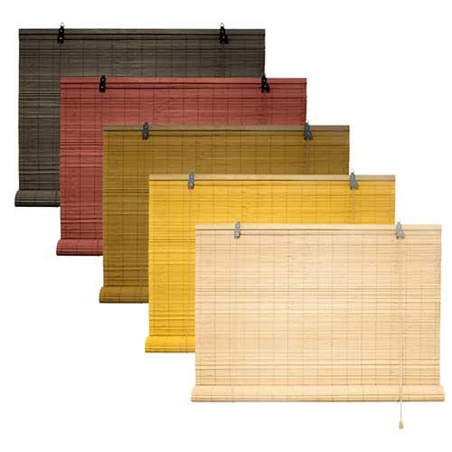 rolgordijn bamboe 130x160 cm