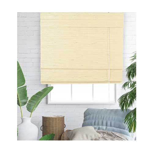 bamboe vouwgordjn 80x220 cm naturel