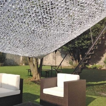 Schaduwnet 3,6x3,6m wit