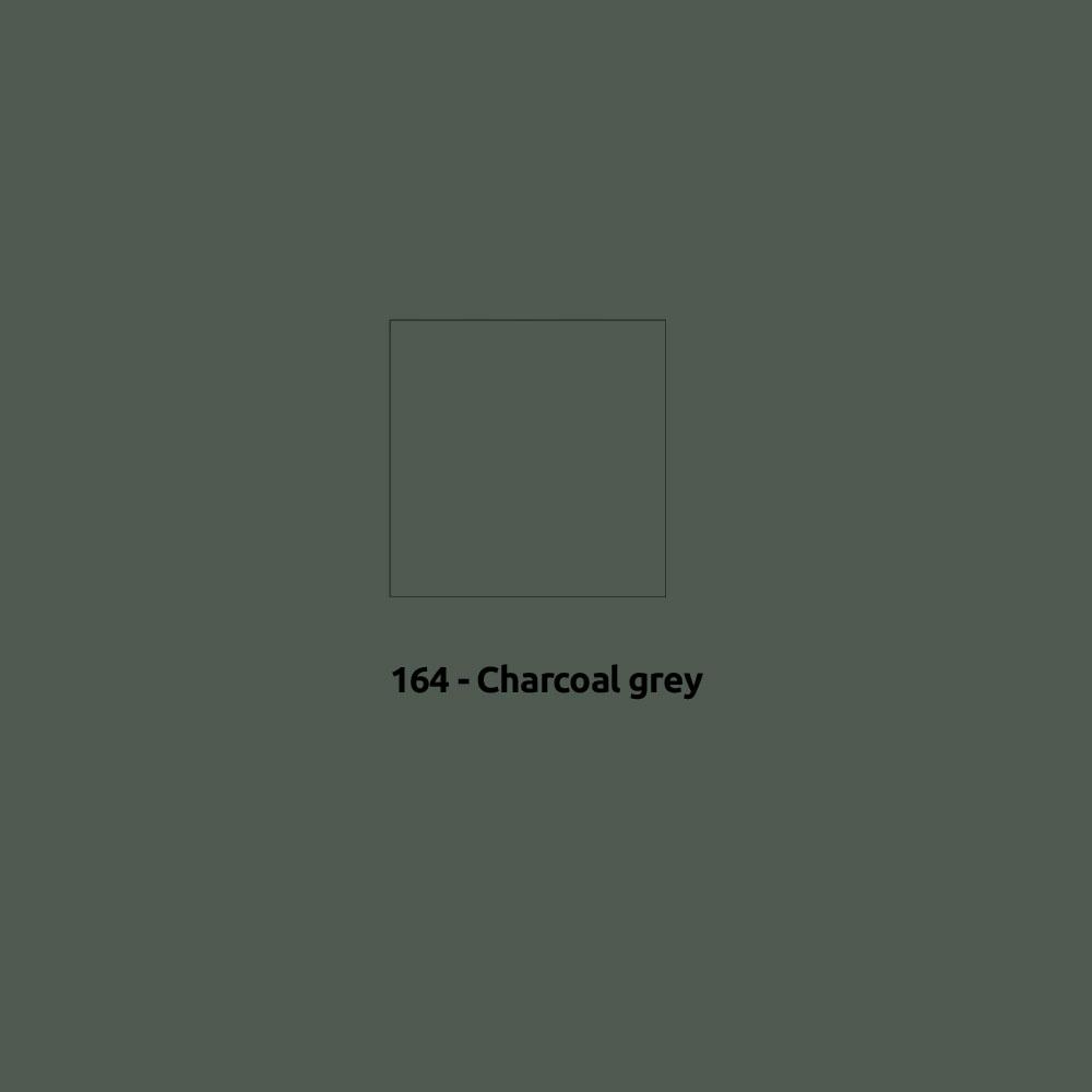 Zonnezeil 4x5m 315gr Charcral Grey waterdicht Docril