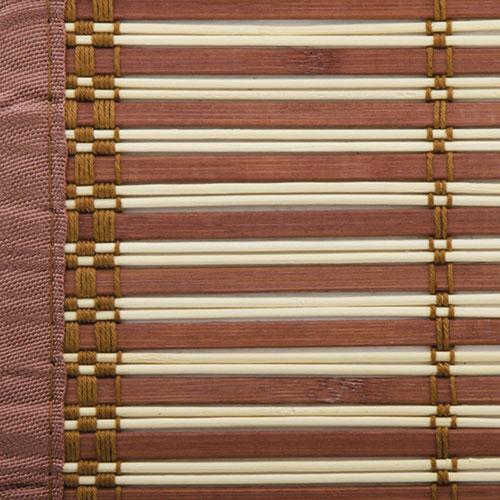 Bamboe rolgordijn Egitto donkerbruin 100cm