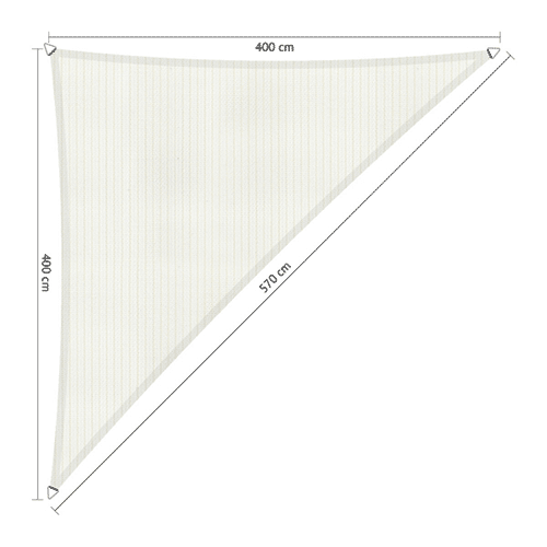 zonnedoek 4x4x5