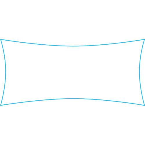 Schaduwdoek op maat rechthoek