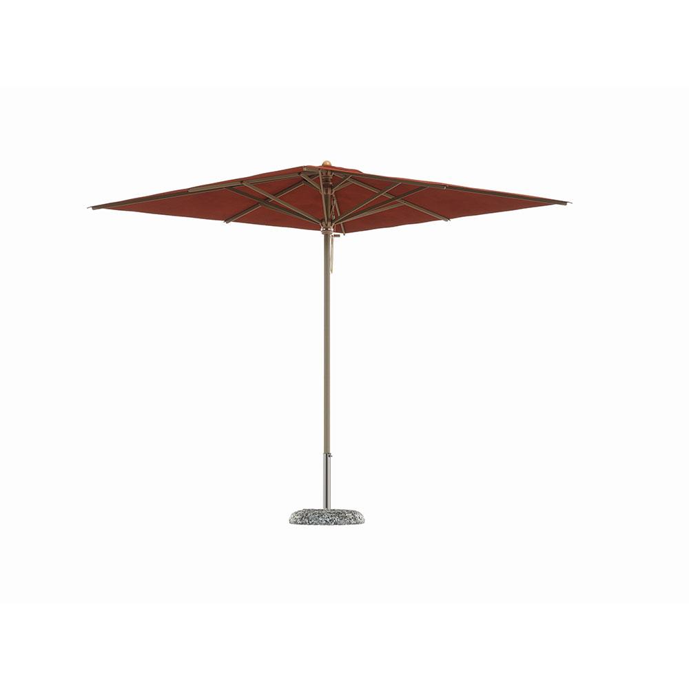 petrarca gesloten houtstok parasol