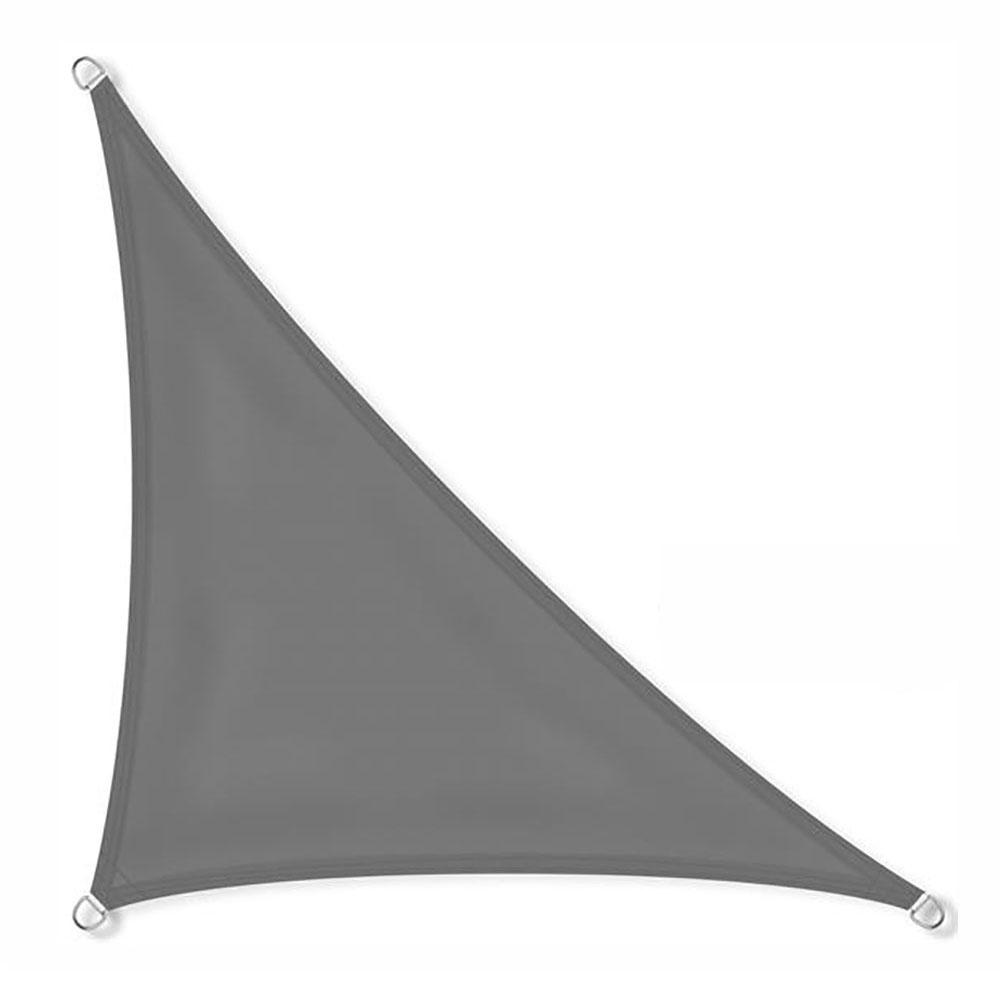Zonnezeil 5x5x7,1 160gr 90° antraciet waterdicht