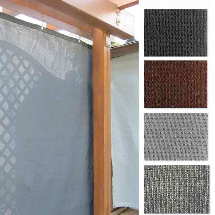Winddoek 120 cm, 1% doorkijk kleuren