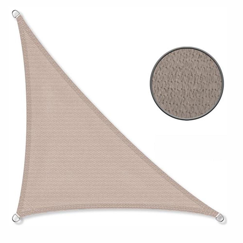 Schaduwdoek 90° 4x4x5,8m 240 g/m2 taupe