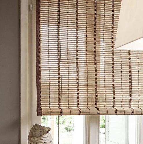 bamboe rolgordijn egitto naturel 180 cm sfeer