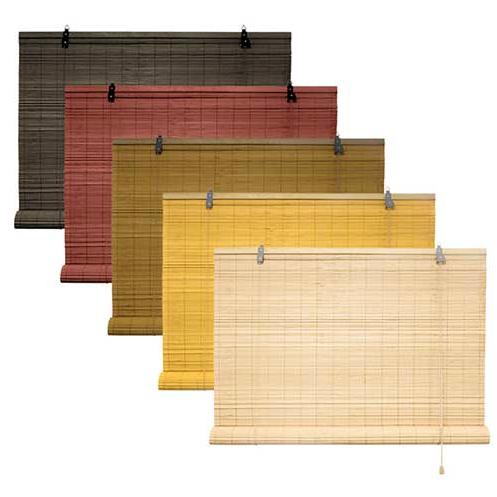 rolgordijn bamboe 60x220 kleuren