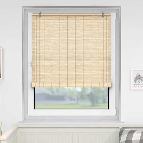 rolgordijn bamboe 70x220 cm naturel sfeer