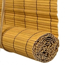 rolgordijn bamboe 60x160 cm