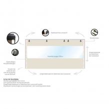 verandazeil coolsail tot 3 m met patentbeugels