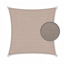Zonnedoek 2x2m 190gr taupe