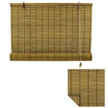 rolgordijn bamboe 60x220 cm