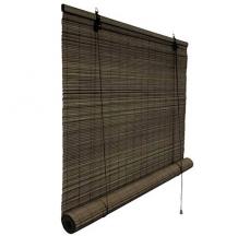 rolgordijn bamboe 70x160 cm donkerbruin