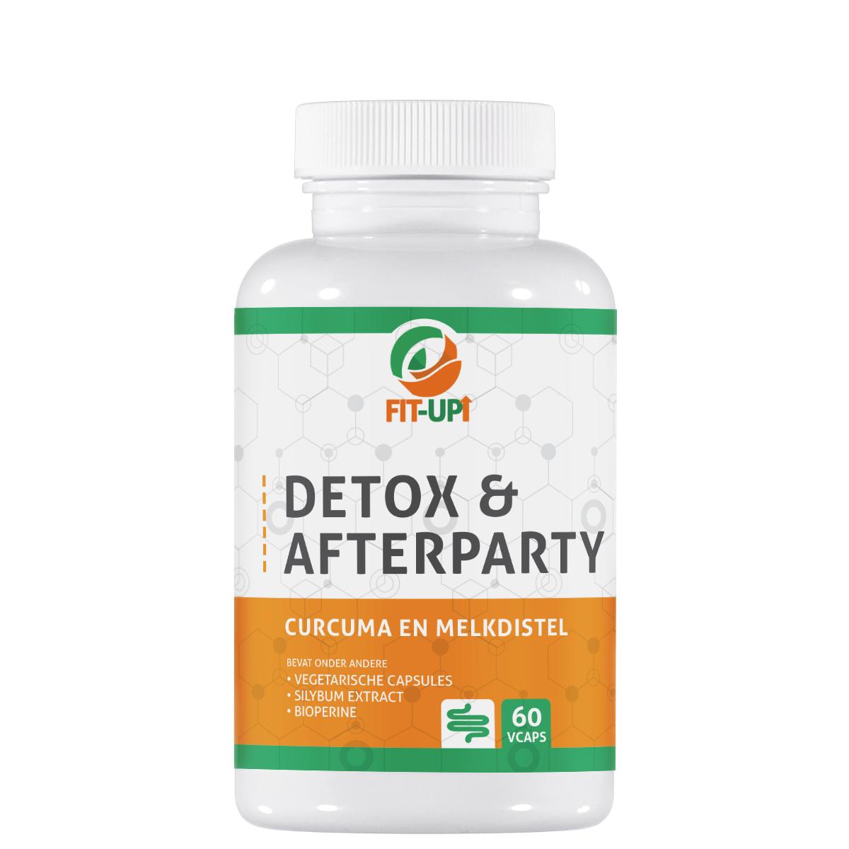 Detox en afterparty - 60 capsules