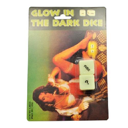 Glow in the dark dobbelstenen