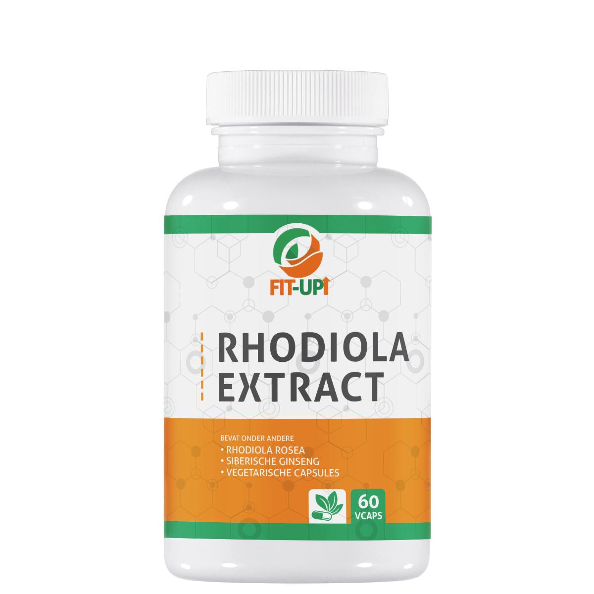 Rhodiola extract - 60 capsules