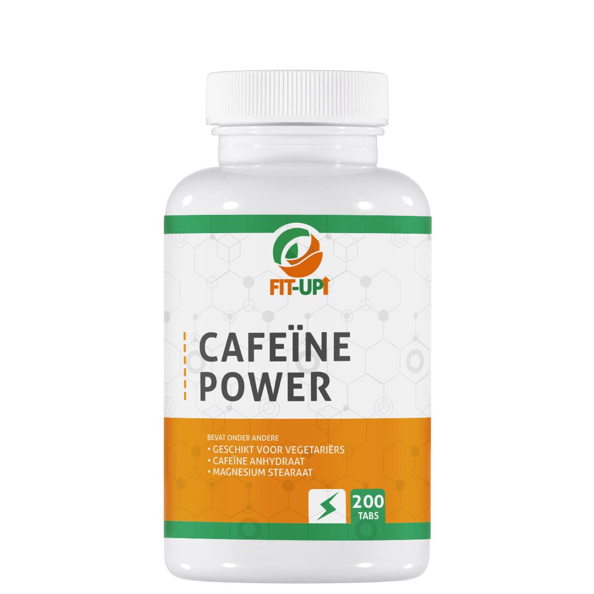 Cafeïne Power - 200 Tabletten