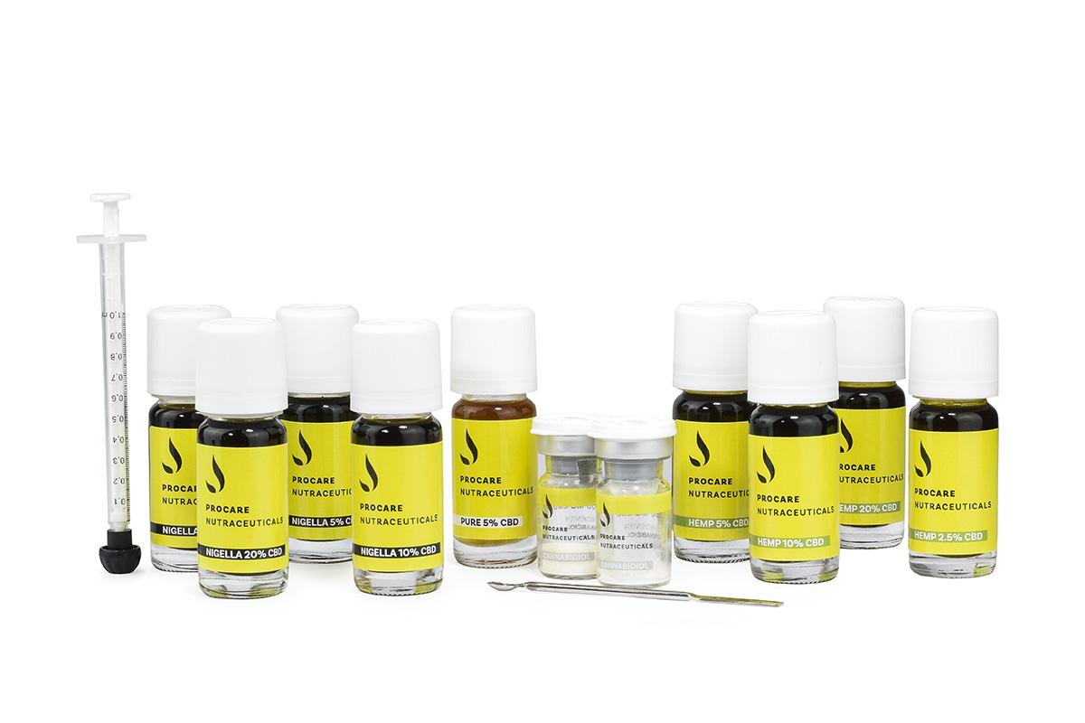 Full spectrum CBD in Nigella sativa olie