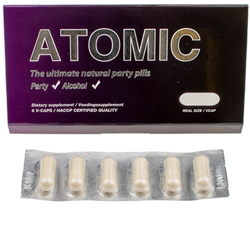 Atomic Part Energizer - 6 capsules