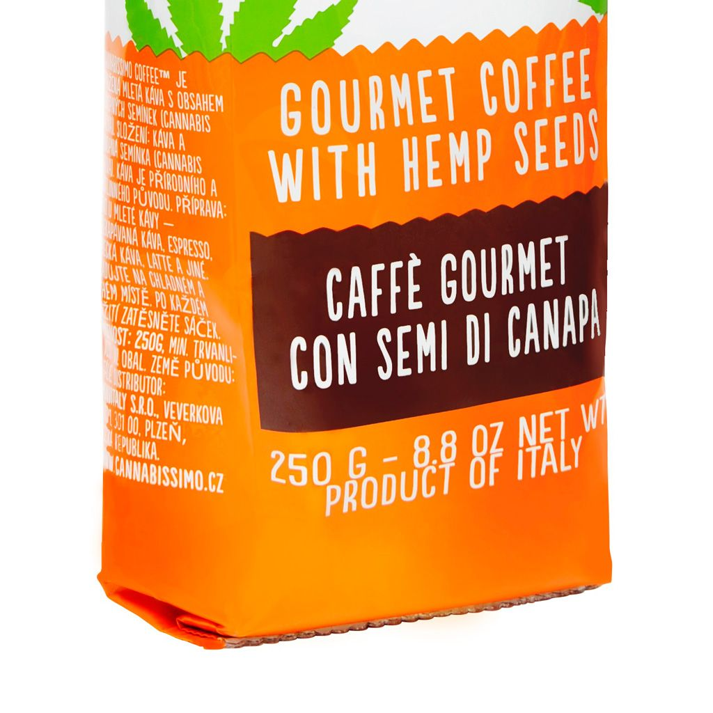 Cannabis Koffie 250 gram   Cannabissimo