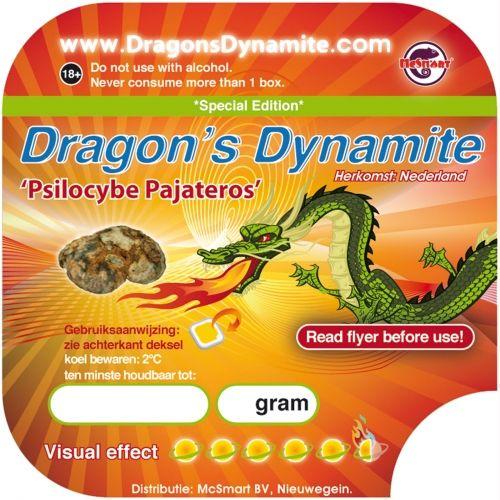 Dragon's Dynamite 15 gram - magic truffles