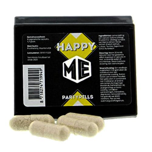 Happy ME 4 caps - Party pills